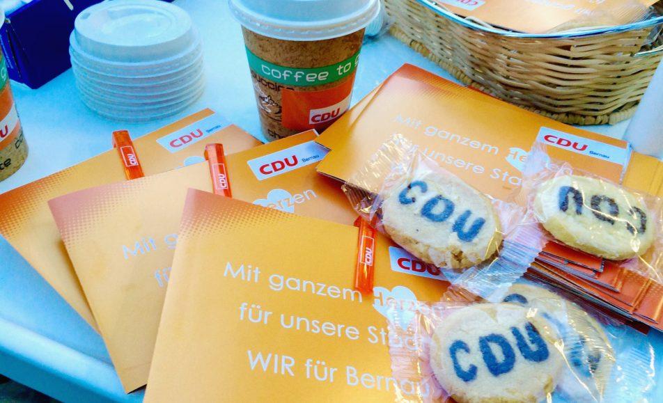 Guten Morgen, Bernau! Kaffee to go für Bernau