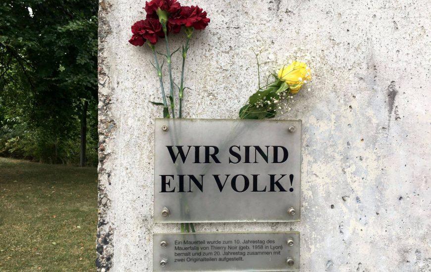 57. Jahrestag des Mauerbaus