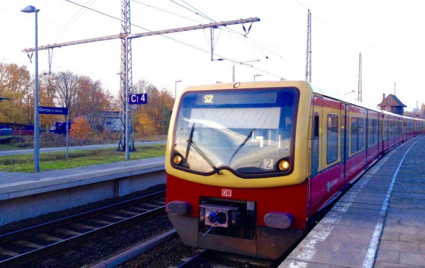 Schildbürgerstreich zum S-Bahnstart in Bernau?