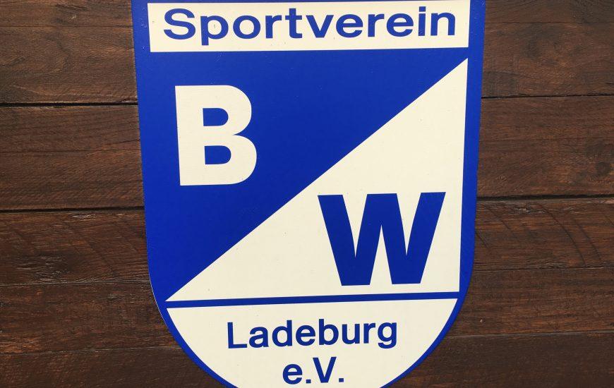 Sportplatzsanierung bei Blau-Weiß Ladeburg gestartet