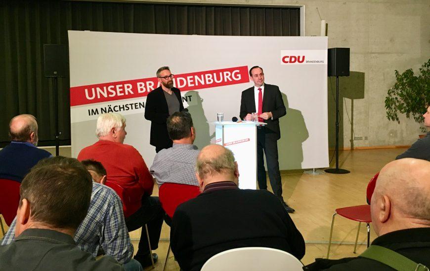 Regionalkonferenz der CDU Brandenburg im Barnim