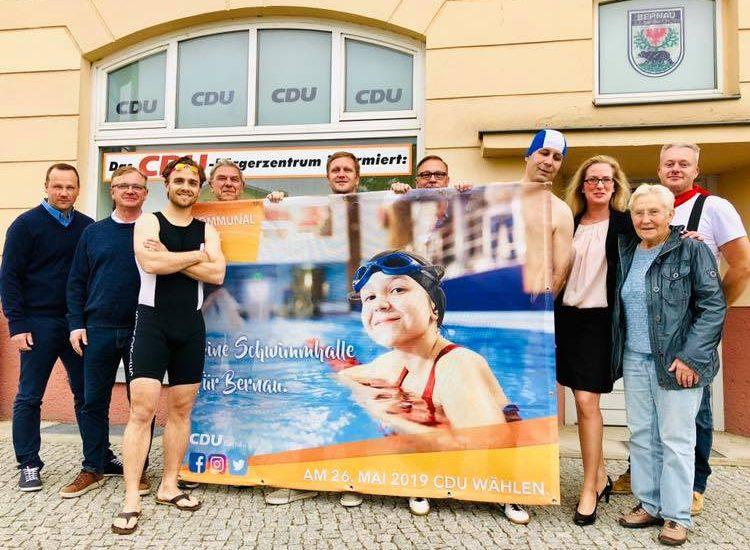 Erster Schritt auf dem Weg zur Schwimmhalle für Bernau – Finanzausschuss für Machbarkeitsstudie